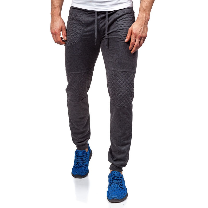 Men's Casual Solid Color Tether Outdoor Trousers