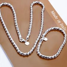 Sterling, Fashion, Chain, Men