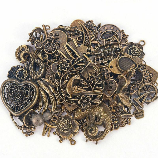 Bracelet Making, diybead, Steampunk, antique jewelry