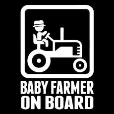 Don /'t touch my John Deere Autocollant sticker film DECOR TRACTEUR GATOR Farmer