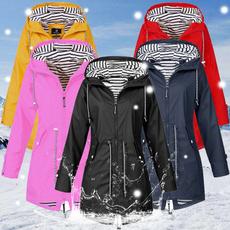 Casual Jackets, hooded, Hiking, Sleeve