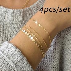 Jewelry, Chain, Bracelet, Women's Fashion