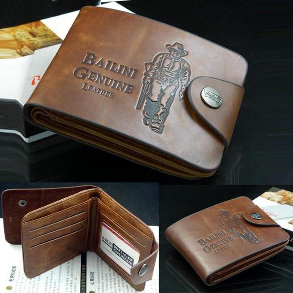BILLETERA Genuine Leather Credit Card Holders