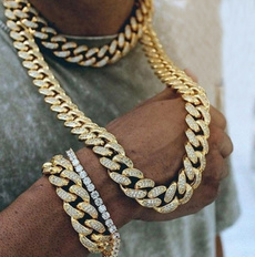 Steel, Chain Necklace, hip hop jewelry, Stainless Steel