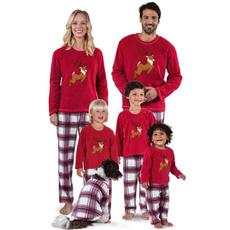 suitset, familynightwear, Sleeve, parentchildpajamasset