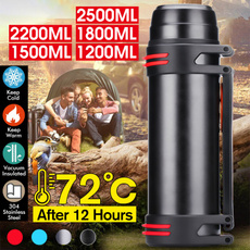 Steel, thermosbottle, insulated, Outdoor