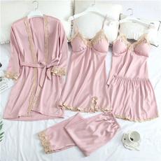 Satin, womnenlingerie, silkyfabric, Pajamas