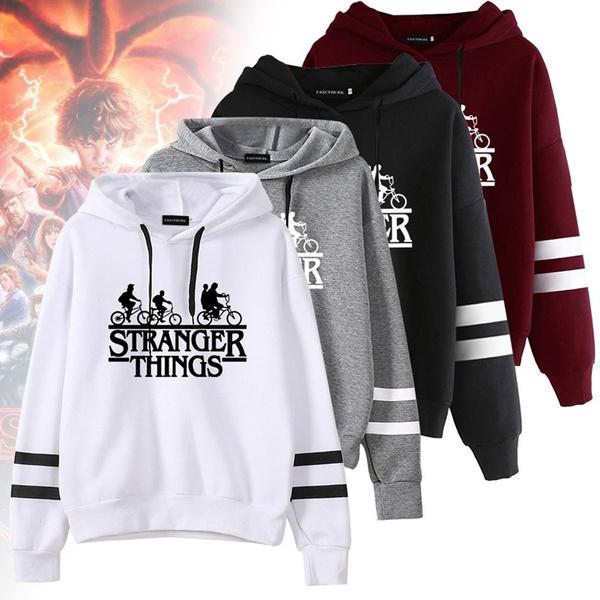 Casual Hoodie, pullover hoodie, letter print, Long Sleeve