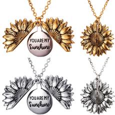 women39sfashion, Jewelry, Sunflowers, sunflowernecklace