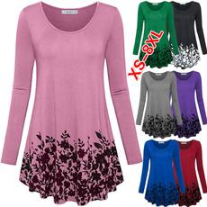 Tops & Tees, Plus Size, Cotton T Shirt, Women Blouse