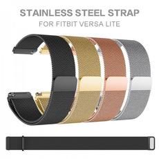 Steel, Stainless, Stainless Steel, fitbitversamilanesestrap