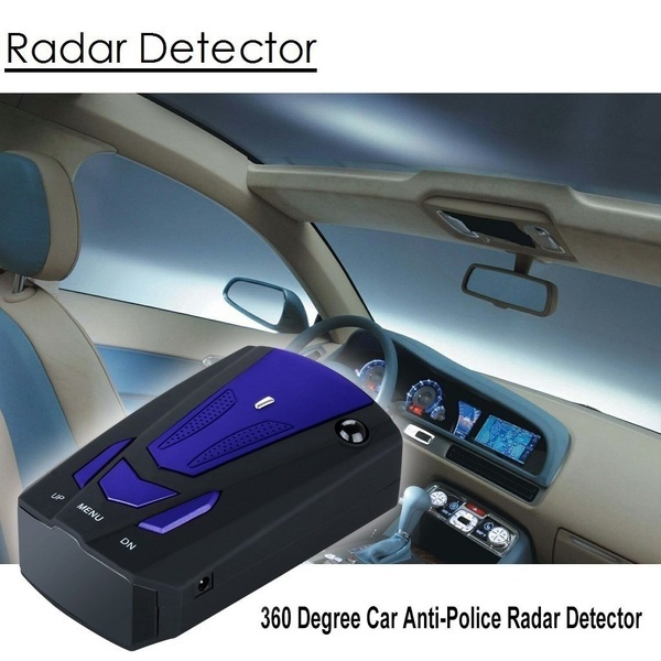 Radar Detector Radar Detectors for Cars Voice Alert and Car Speed Alarm System with 360 Degree Detection