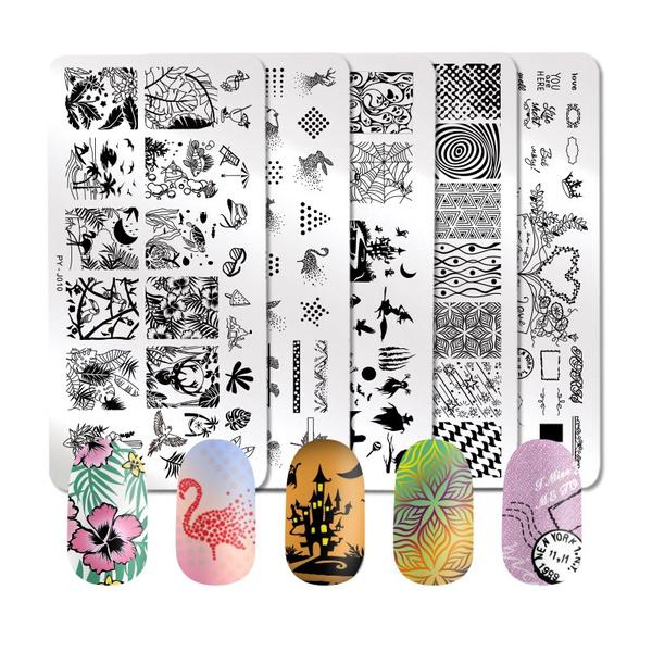 nailstamp, nailstamping, flowernailart, Beauty