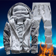 Thicken, Fleece, waterproofjacket, Winter