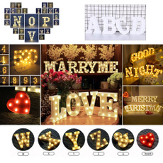 partyletterlight, numberledlight, weddingpartydecor, led