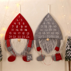 party, Christmas, gnome, wallhanging
