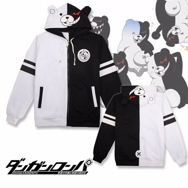 Hoodies, danganronpamonokuma, danganronpaunisex, Fashion