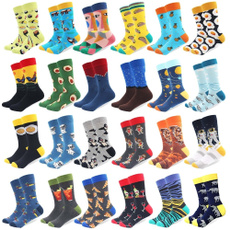 Funny, mens socks, Cotton, Skateboard
