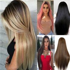 wig, pink, brown, wigsforwomen