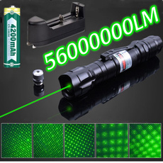 Flashlight, charger, bluelaser, laserlight