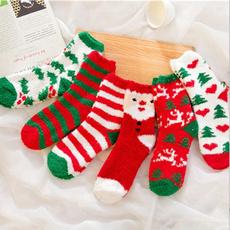 Fleece, Christmas, Socks, christmassock
