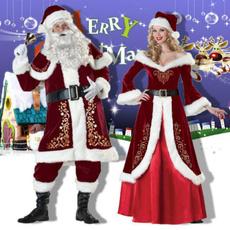 santaclausclothing, costumeforadultsth3party9718witch, Plus Size, christmascosplaycostume