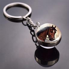 horse, Key Chain, Jewelry, Glass