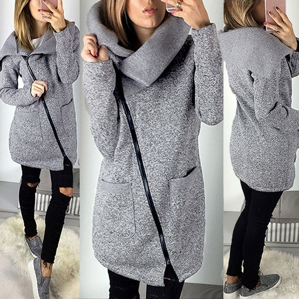 strickjacke fleece damen