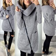 Fleece, Fashion, Hoodies, Zip