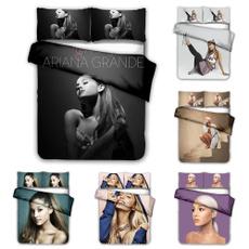 beddingkingsize, printedbedding, 3pcsbeddingset, Fashion