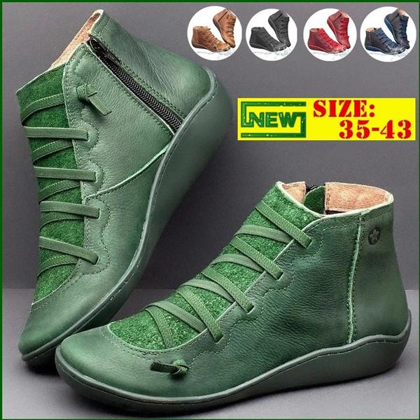 Women Flats Shoes Fashion Womens Waterproof Casual Slip on Shoes Big Size