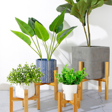 Wood, Plantas, woodflowerpotrack, flowerstand