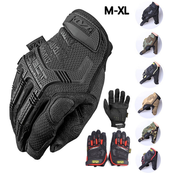 Motorcycle Bike Military Tactical Airsoft Riding Hunting Full Finger Camo Gloves