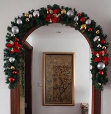 heater, Christmas, Garland, Tree