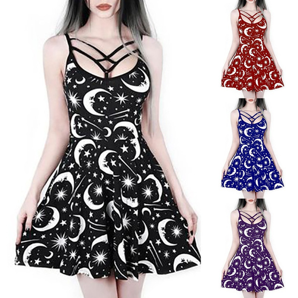 Mini, GOTHIC DRESS, Plus Size, women dresses
