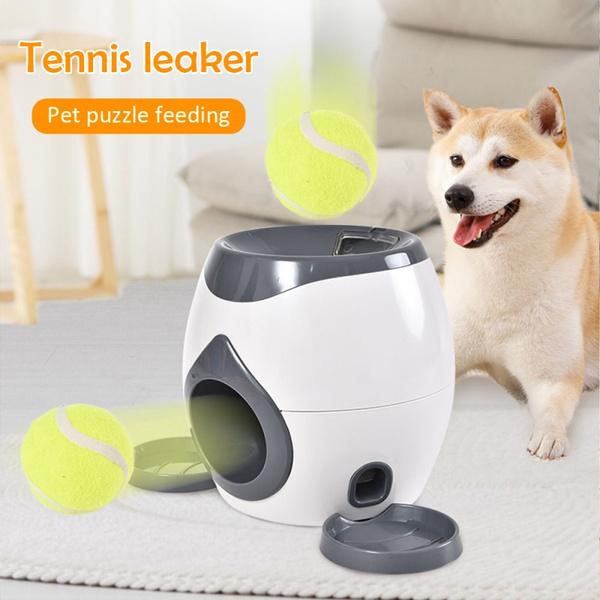 Tennis Ball Throwing Fetch Machine Cat