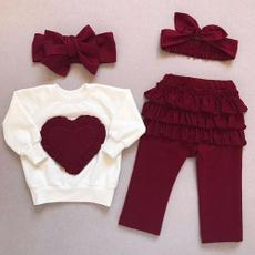 Baby Girl, ruffle, Spring/Autumn, pants