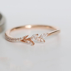 DIAMOND, leaf, Jewelry, gold