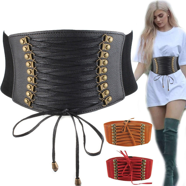 Goth, Fashion, Lace, gothiccorsetbelt