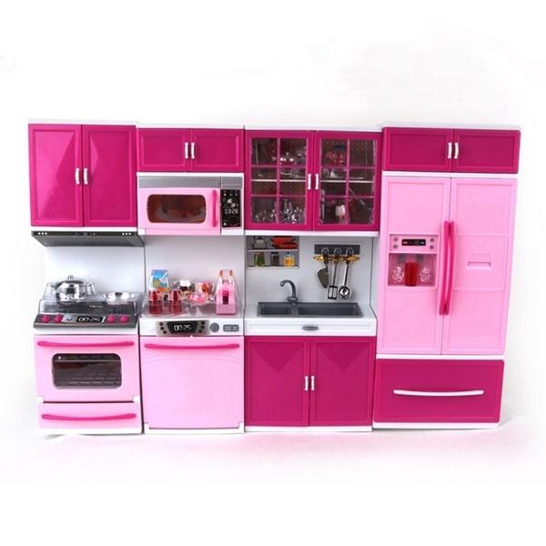 Kitchen Set Of Barbie Doll Cheap Toys Kids Toys