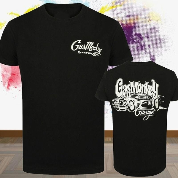 Gas Monkey Garage T-Shirt White Car 31