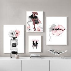 fashionwallart, Fashion, art, canvaspainting