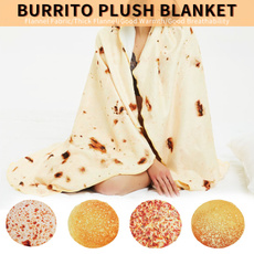 pizzablanket, perfectlyround, sofablanket, Throw Blanket