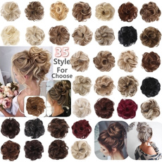hairscrunchie, pony, Elastic, Hair Extensions
