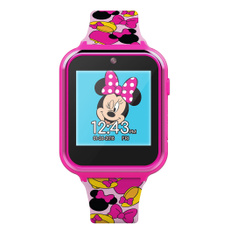 pink, Mickey Mouse, Girl, Watches