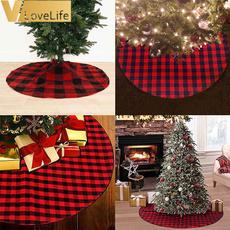 plaid, burlap, Christmas, treedecor