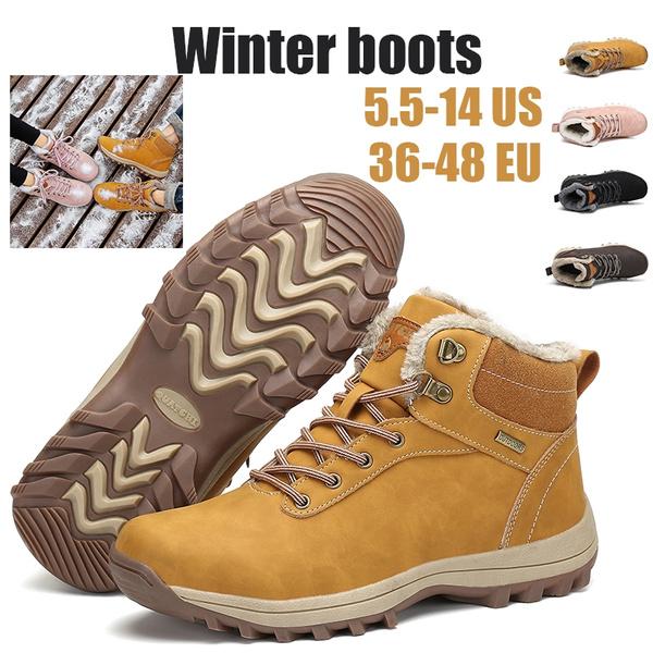 New Winter Boots Snow Boots Cotton Shoes Warm Gefüttert Vinterstøvler Talvikengät Winterstiefel Damen Herren