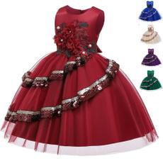 childrendre, flowergirlsdresse, Dress, Floral dress