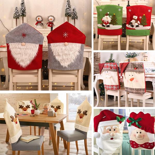 snowman, chaircover, Christmas, Family
