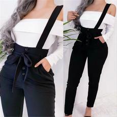 suspenders, Women Pants, trousers, suspenderdre
